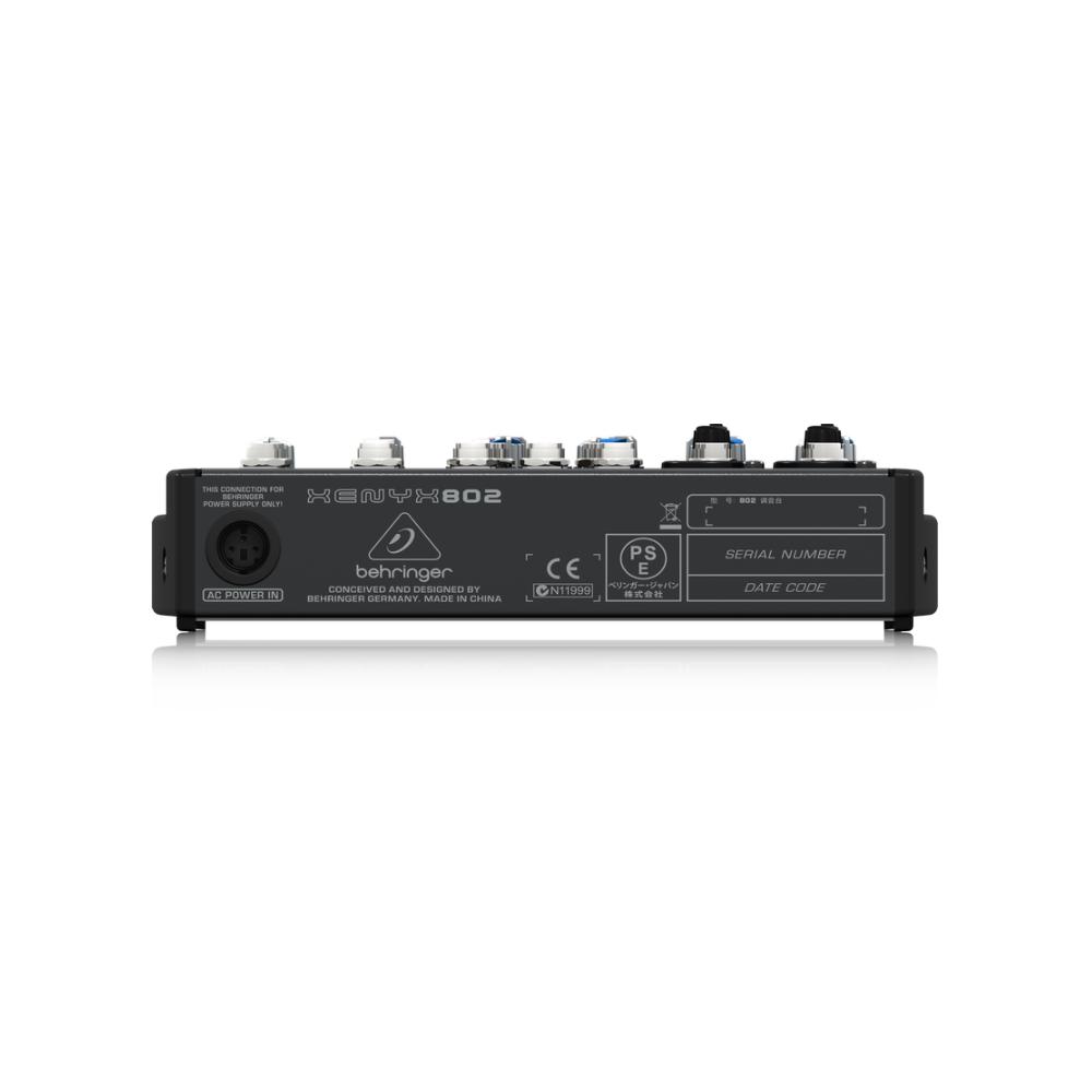 BEHRINGER - XENYX 802 - Premium 8x2-Bus Mixer
