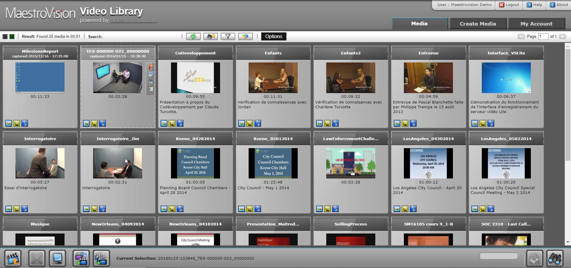 VEOTEK Videoteca Grabaciones para salas de audiencia