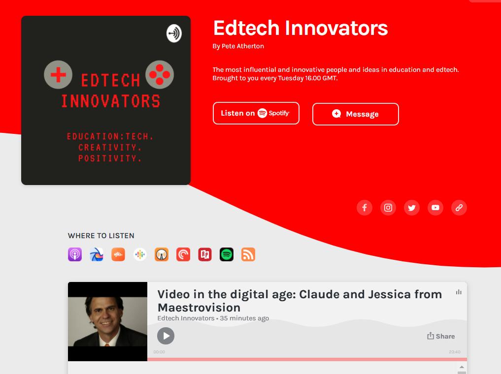 Edtech Podcast